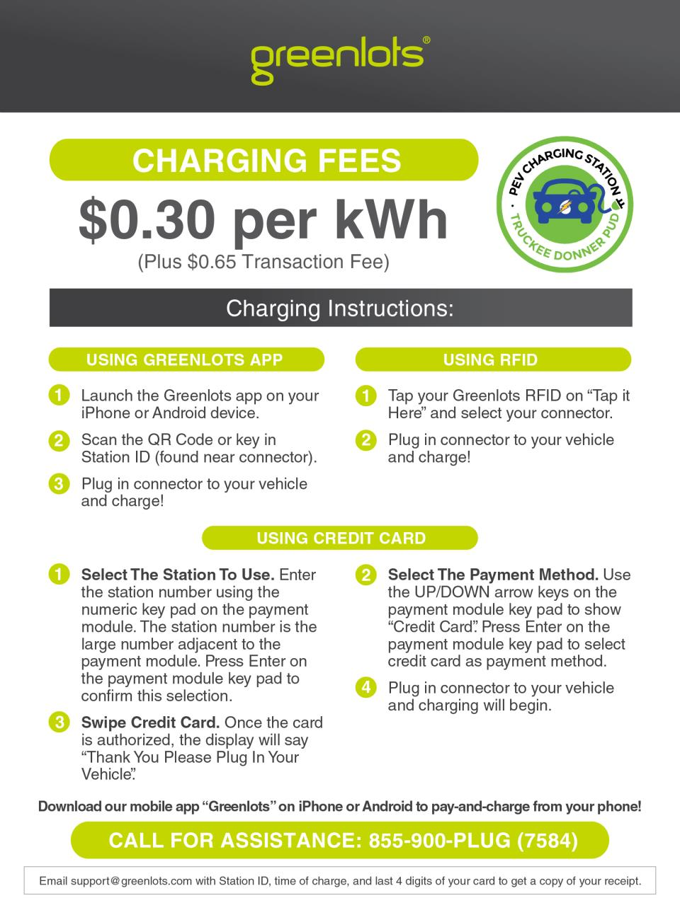 EV Greenlots credit card instruction_sheet