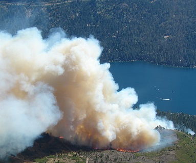 Truckee Fire Image